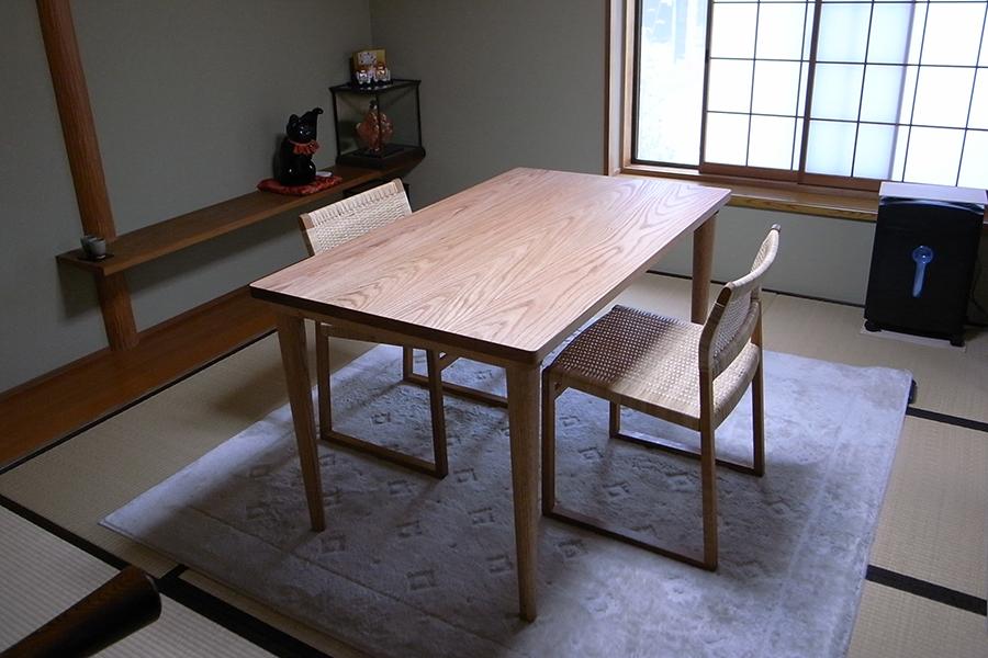 P304ダイニングテーブル(Oak) | P304 Dining Table (Oak)