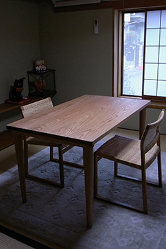 P304 Dining Table (Oak)